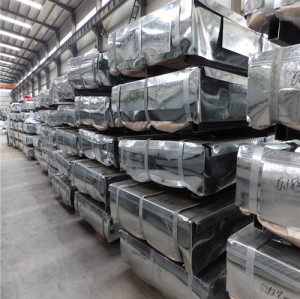 JIS G3302 SGCC A653 SGCH Hot Dipped Galvanized Steel Sheet