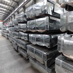 JIS G3302 SGCC A653 SGCH Hot Dipped Galvanized Steel Sheet