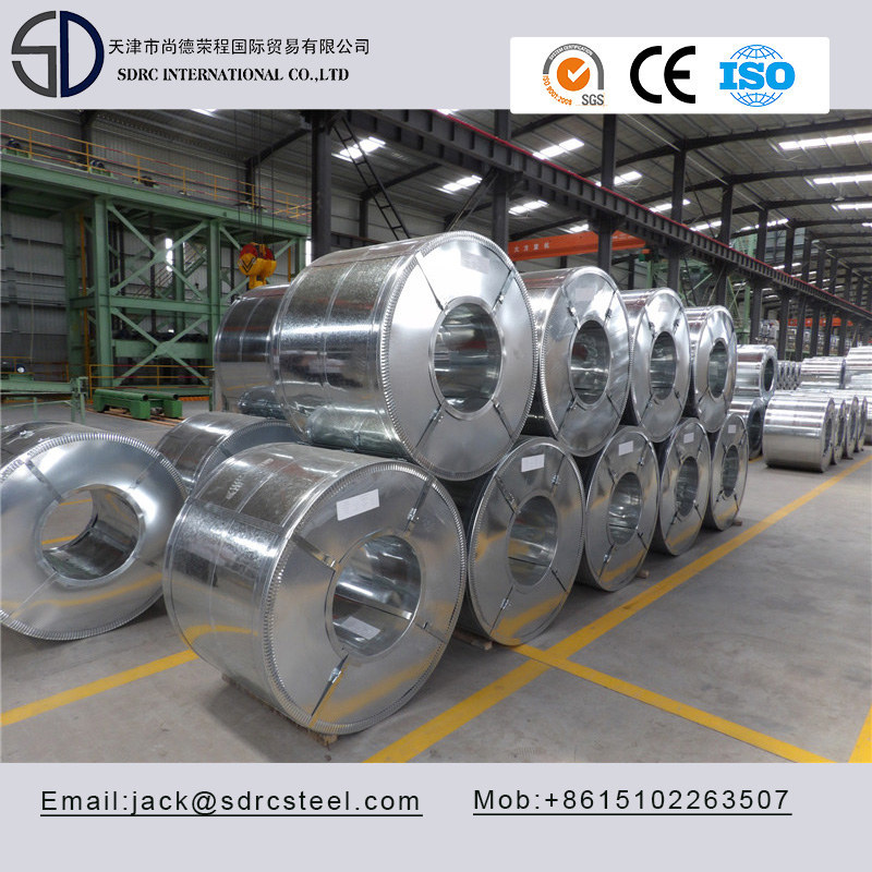 SGCC DX51D Galvanized Steel Coil had be finished.