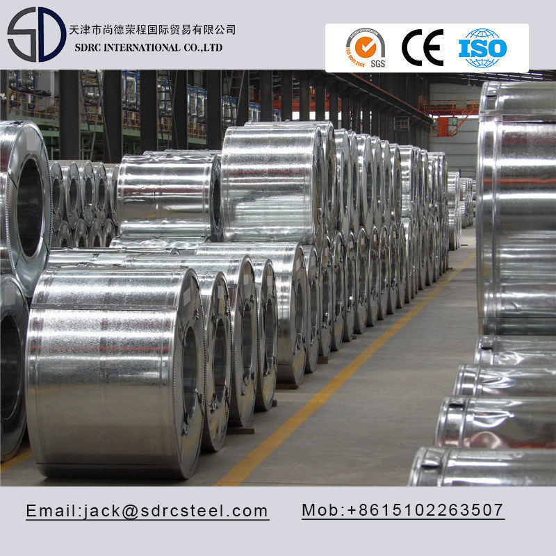 Z80/Z180 Galvanized Steel Coil