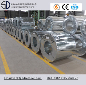 SGCH A653 Hot Dipped Galvanized Steel Coil with Regular Spangle