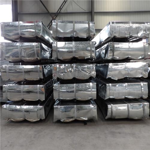 500 tons 0.6/0.5/0.4mm Galvanized Steel Sheet
