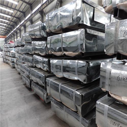 Export SGCC Galvanized Steel Sheet- Tianjin Shangde Rongcheng
