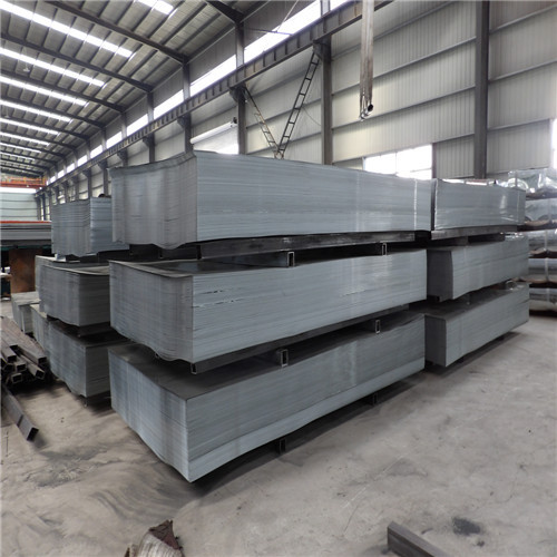 Thin Galvanized Steel Sheet with iron pallet