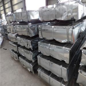 JIS G3302 SGCH Full Hard Hot Dipped Galvanized Steel Sheet