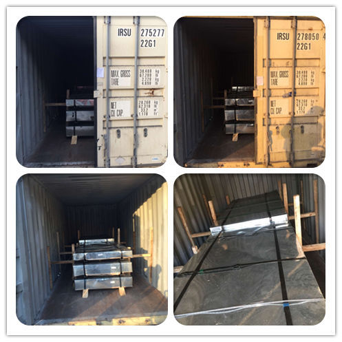 High quality galvanized steel sheet exported from China
