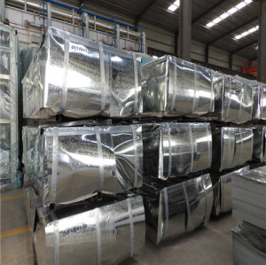 JIS G3302 SGCC Soft Quality Hot Dipped Galvanized Steel Sheet