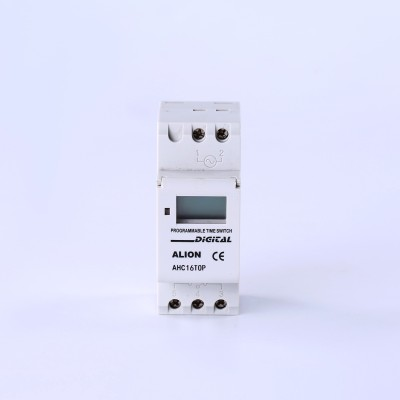 AHC16TOP Timing Random Weekly Programmable LCD Digital Time switch, Din rail