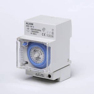 AHC181b 24 hours Analogue Time Switch, External Battery
