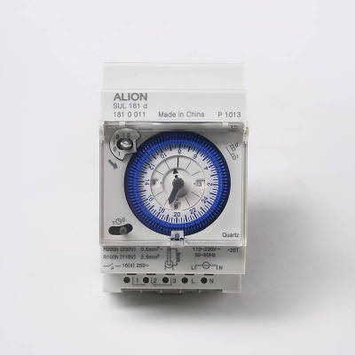 SUL181d 24 hours Analogue Time Switch, Battery Powered Timer