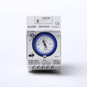 AHC181d 24 hours Analogue Time Switch, External Battery