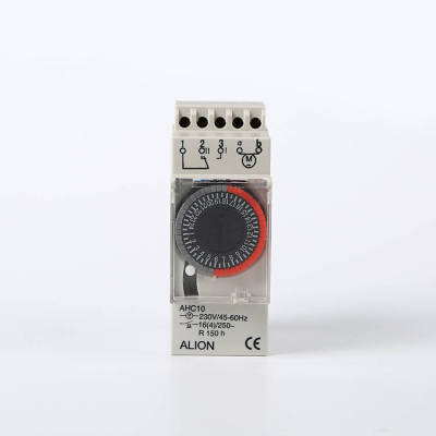 AHC10 24 hours Analogue Time Switch, Battery Powered Timer