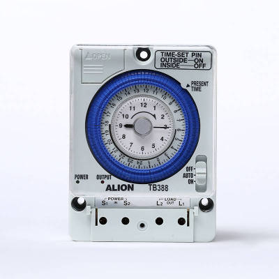 TB388 24 hours Analogue Time Switch, Battery Powered