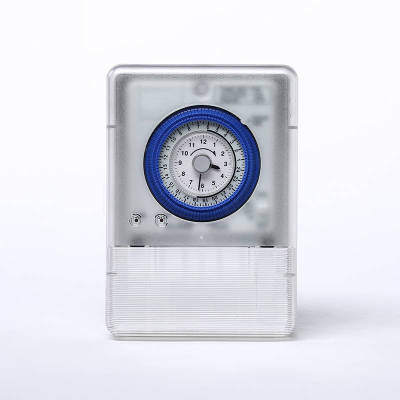 TB388S 24 hours Analogue Time Switch, Battery Powered, With Plastic Box