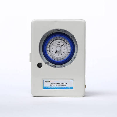 TB388B 24 hours Analogue Time Switch, Battery Powered, With Metal Box