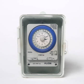 TBS-F 24 hours Analogue Time Switch, Rain Prevented, Battery Powered