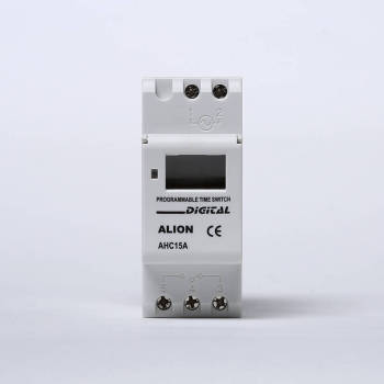 AHC15A Weekly Programmable LCD Digital Time switch, Din rail