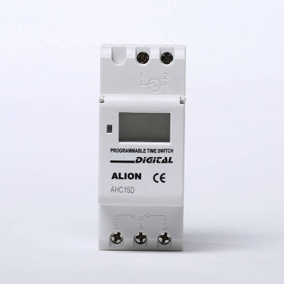 AHC15A-D 85~265VAC Wide Range Weekly Programmable LCD Digital Time switch