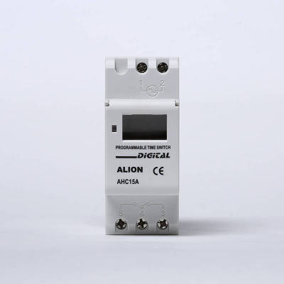 AHC15A-V Over/Under voltage protection Weekly Programmable LCD Digital Time switch