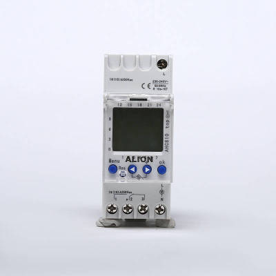 AHC810 Weekly Programmable LCD Digital Time switch, Din rail