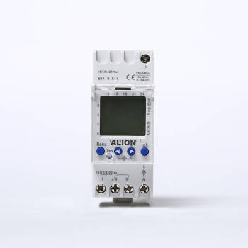 AHC811 Weekly Programmable LCD Digital Time switch, Din rail