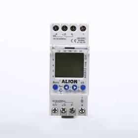 AHC812 2 Channels Weekly Programmable LCD Digital Time switch, Din rail