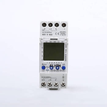 AHC822 2 Channels Weekly Programmable LCD Digital Time switch, Din rail