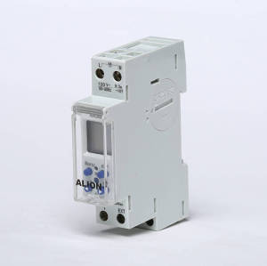 AHC808 Weekly Programmable LCD Digital Time switch, Din rail