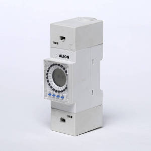 AHC841 Weekly Programmable LCD Digital Time switch, Din rail