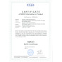 REACH certificate of battery