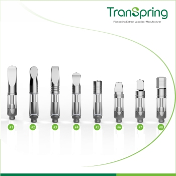 Transpring Designed Mouthpiece with Design Patent Protection