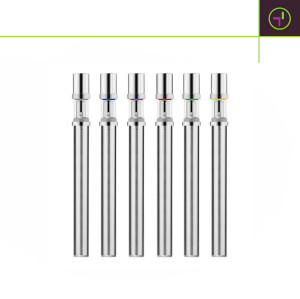 Transpring Dual-coil DP3 disposable vape pen with medical grade glass tube for essential oil