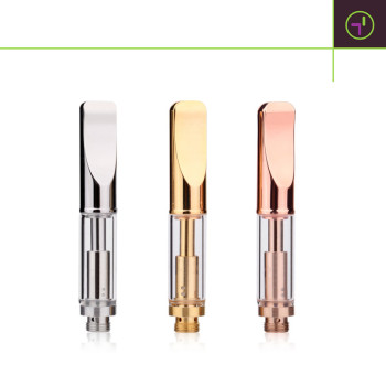 World First 100% Original Dual-coil A3 Glass Vape Cartridge for Extractions