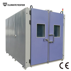 Walk In Test Chamber With Electrical Panel Controller
