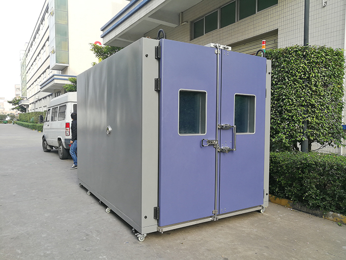 Walk in test chamber with temperature control china walk for Chambre walk in