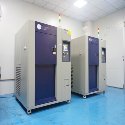 Laboratory Automatic Thermal Shock Test Chamber Climatic High Low Temperature Impact