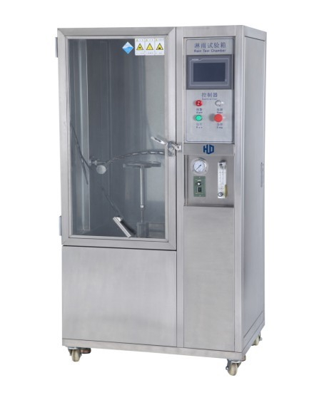 CE approved IPX3 IPX4 Programmable water spray test chamber rain spray test chamber
