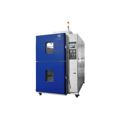 Two Zones Thermal Shock Test Chamber 丨 High-Low Temperature Test Equipment