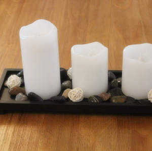 LED WAX CANDLE SET 3