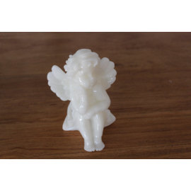 PAINTED ANGEL LED WAX CANDLE YH15
