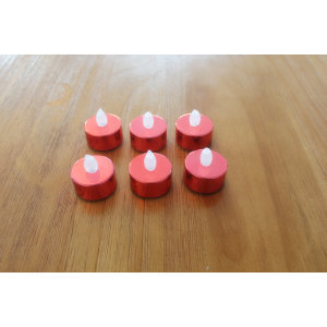 LED PLASTIC CANDLE YM25