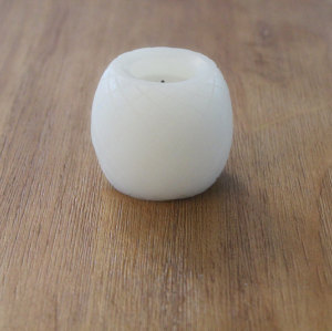 WHITE LED WAX CANDLE YM3