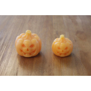 PUMPKIN LED WAX CANDLE YM4