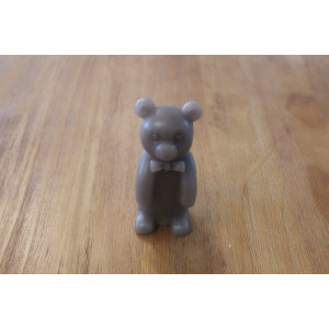 BROWN BEAR LED WAX CANDLE YM8