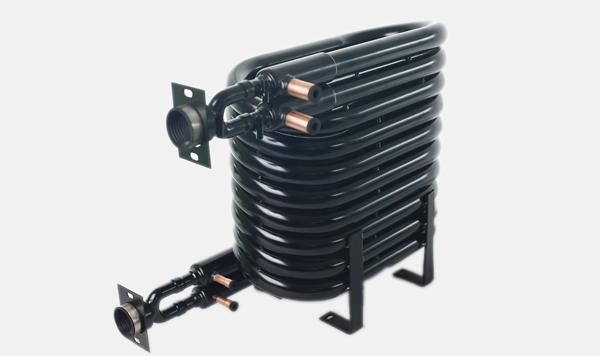 U形穿插式多系统同轴换热器
