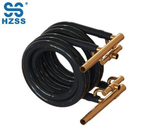 Hangzhou dvojité systémy koaxiální cívky nerezové a měděné potrubí výměníku tepla pro klimatizační zařízení a výparník
