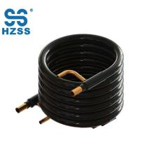 HZSS high quality tube in tube coaxial coil heat exchanger double pipe copper