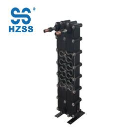 Condensador de calor de la cáscara y del tubo de la eficacia HZSShigh y piscina plástica de la bomba de calor del cambiador de calor del tubo de la cáscara de la placa