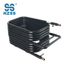 HZSS high performance coaxial heat exchanger tube in tube Nickel white copper Carbon dioxide heat pump