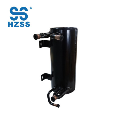 HZSS عالية الأداء زعنفة أنبوب النحاس أنابيب عالية الكفاءة خزان محوري دوامة مبادل حراري